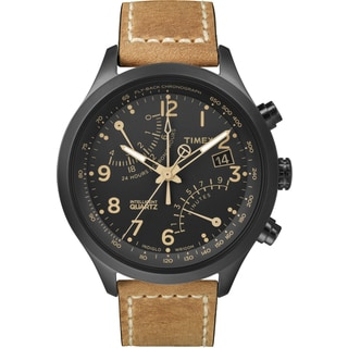 Timex Men's T2N700DH Intelligent Quartz Fly-Back Chronograph Watch