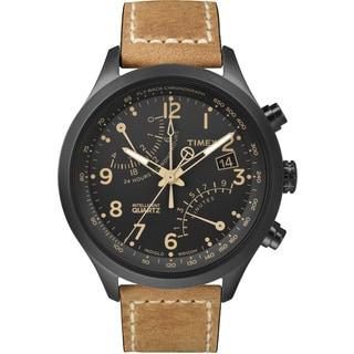 Timex Men's T2N700DH Intelligent Quartz Fly-Back Chronograph Watch
