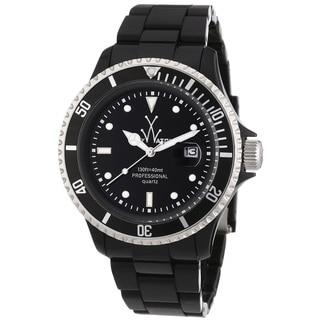 Toy Watch Women's FL23BK 'Plasteramic' Black Stainless Steel Watch