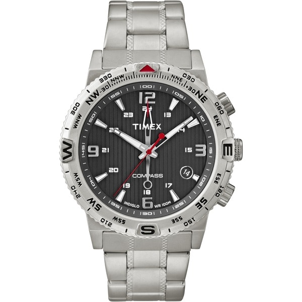 Shop Timex Intelligent Quartz Compass Watch