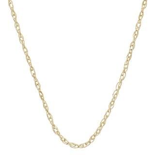 Gioelli 14k Gold Lightweight 18-inch Link Chain