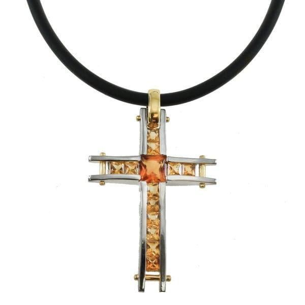 Michael valitutti palladium silver madeira citrine cross necklace michael valitutti palladium silver madeira citrine cross necklace aloadofball Gallery