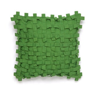 Collier Campbell Pondicherry Chartreuse 14-inch Decorative Throw Pillow