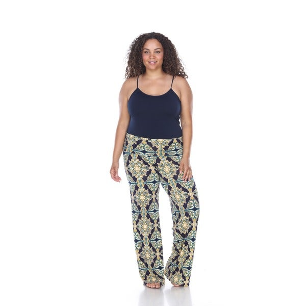 Shop White Mark Women\u0027s Plus,size \u0027Mosaic Style Print