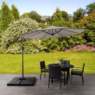 CorLiving Offset Patio Umbrella (3 options available)