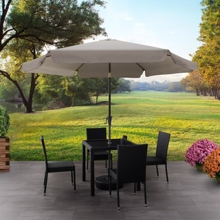 Havenside Home North Bend Round Tilting Patio Umbrella