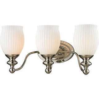 Park Ridge Collection 3-light bath in Polished Nickel