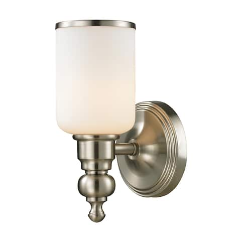 Bristol Collection 1-light bath in Brushed Nickel
