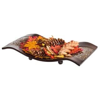 Link to Schonwerk Decorative Walnut Color Centerpiece Dish Similar Items in Dinnerware