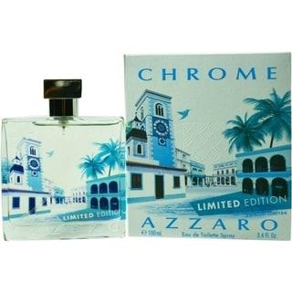 Loris Azzaro Chrome Men's 3.4-ounce Eau de Toilette Spray (Limited Edition)
