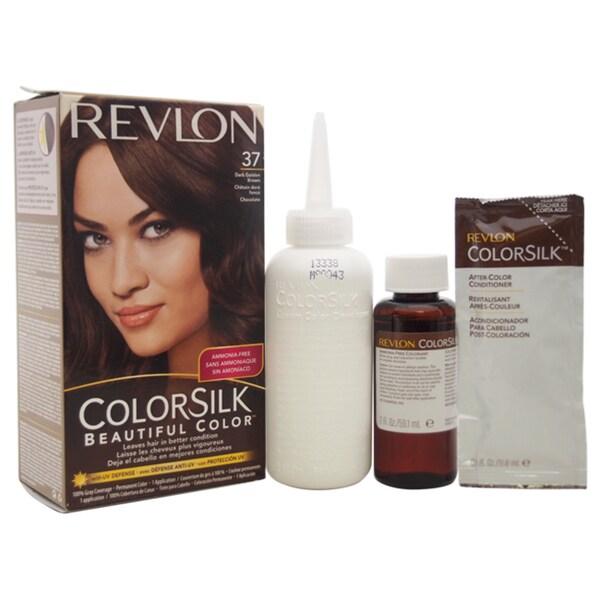 Review Revlon Colorsilk Dark Mahogany Brown | Dark Brown Hairs