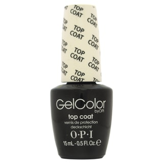 OPI GelColor Top Coat Soak Off Gel Lacquer