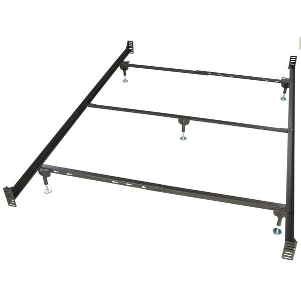 bernards metal bolt on bed frame queen - Standard Metal Bed Frame