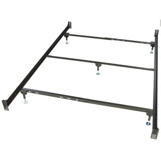 bernards metal bolt on bed frame queen free shipping today overstockcom 17162195
