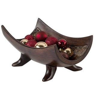 Link to Schonwerk Walnut Color Decorative Bowl Similar Items in Decorative Accessories