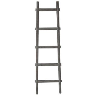 60-inch Decorative Wooden Ladder