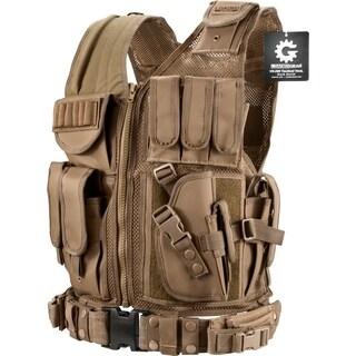 Barska Loaded Gear VX-200 Dark Earth Right Hand Tactical Vest