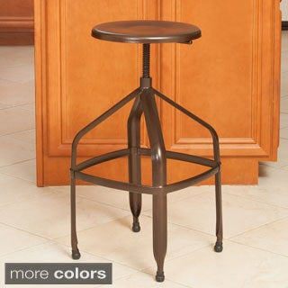 Christopher Knight Home Natalia Steel Swivel Stool
