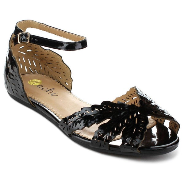 Shop Machi Tessa Women S Ankle Wrap Buckle Sandals Free