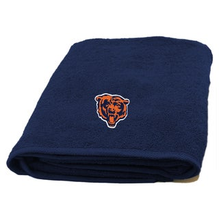 NFL Bears Applique Bath Towel