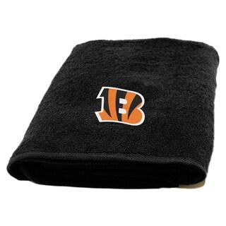 NFL Bengals Applique Bath Towel