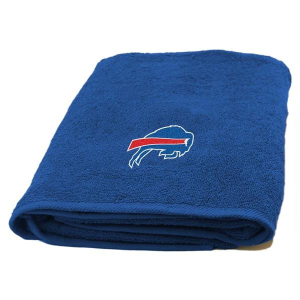NFL Bills Applique Bath Towel