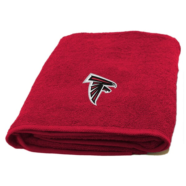 The Northwest Company NFL Atlanta Falcons Applique Bath Towel