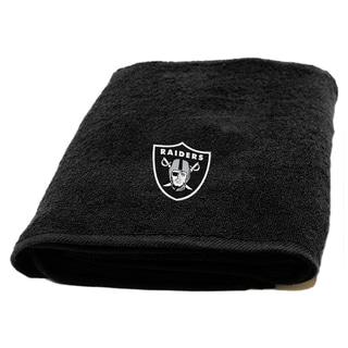 NFL Raiders Applique Bath Towel