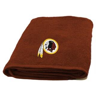 NFL Redskins Applique Bath Towel