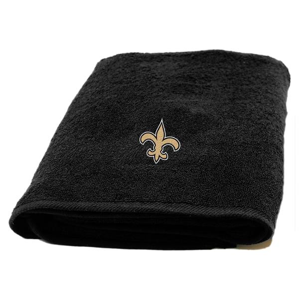 NFL Saints Applique Bath Towel