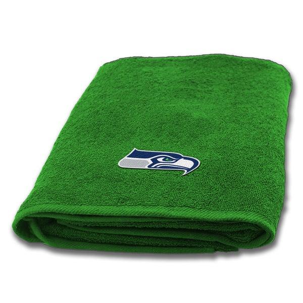 NFL Seahawks Applique Bath Towel
