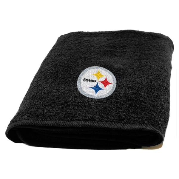 NFL Steelers Applique Bath Towel