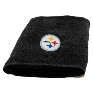 NFL Steelers Applique Bath Towel