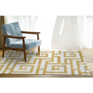 Rome Gold Area Rug (5' x 8')
