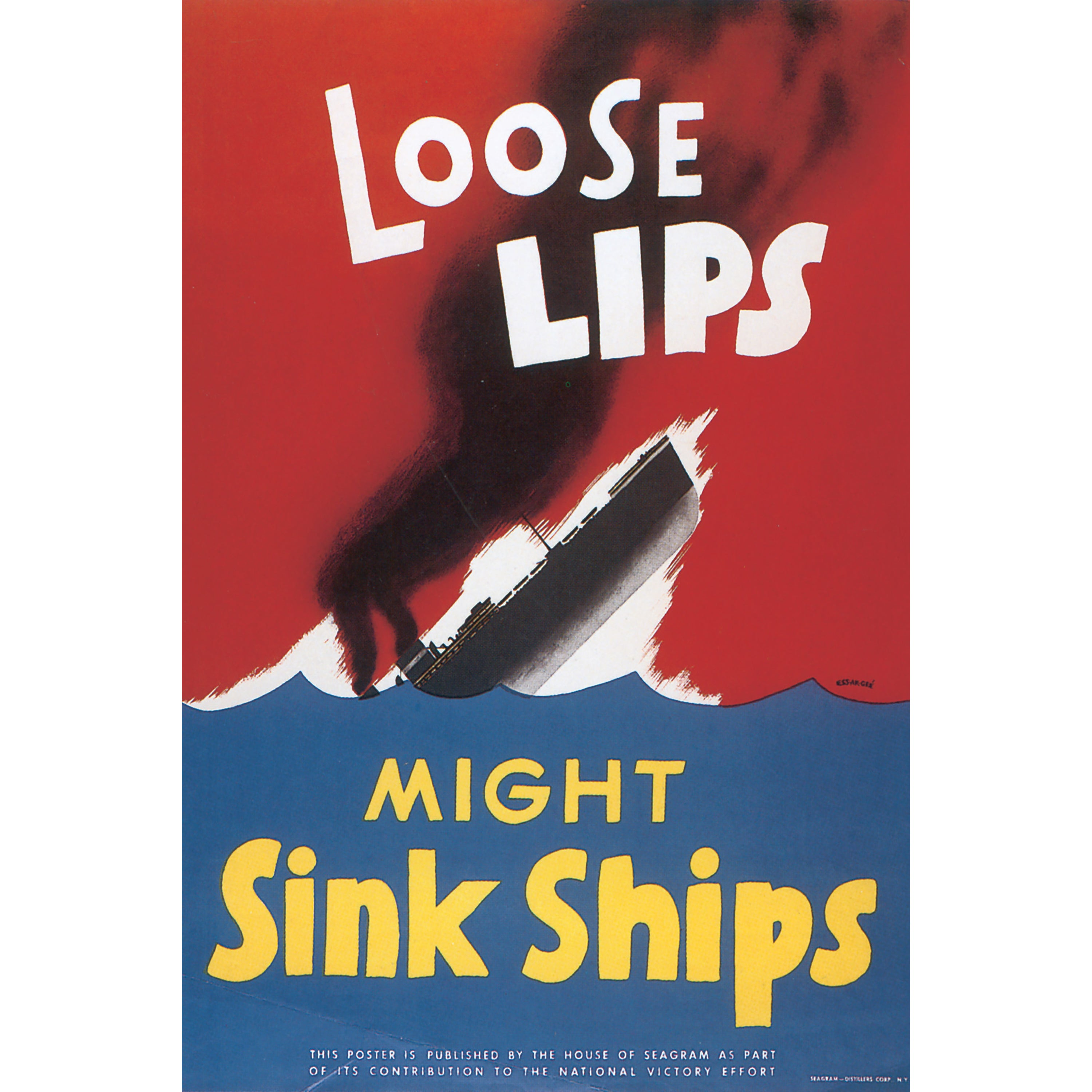 Marmont Hill Art Collective 'Loose Lips' Canvas Art (24 X...