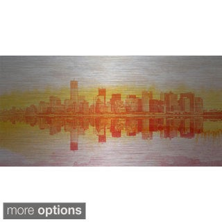 Marmont Hill 'New York New York' Aluminum Art