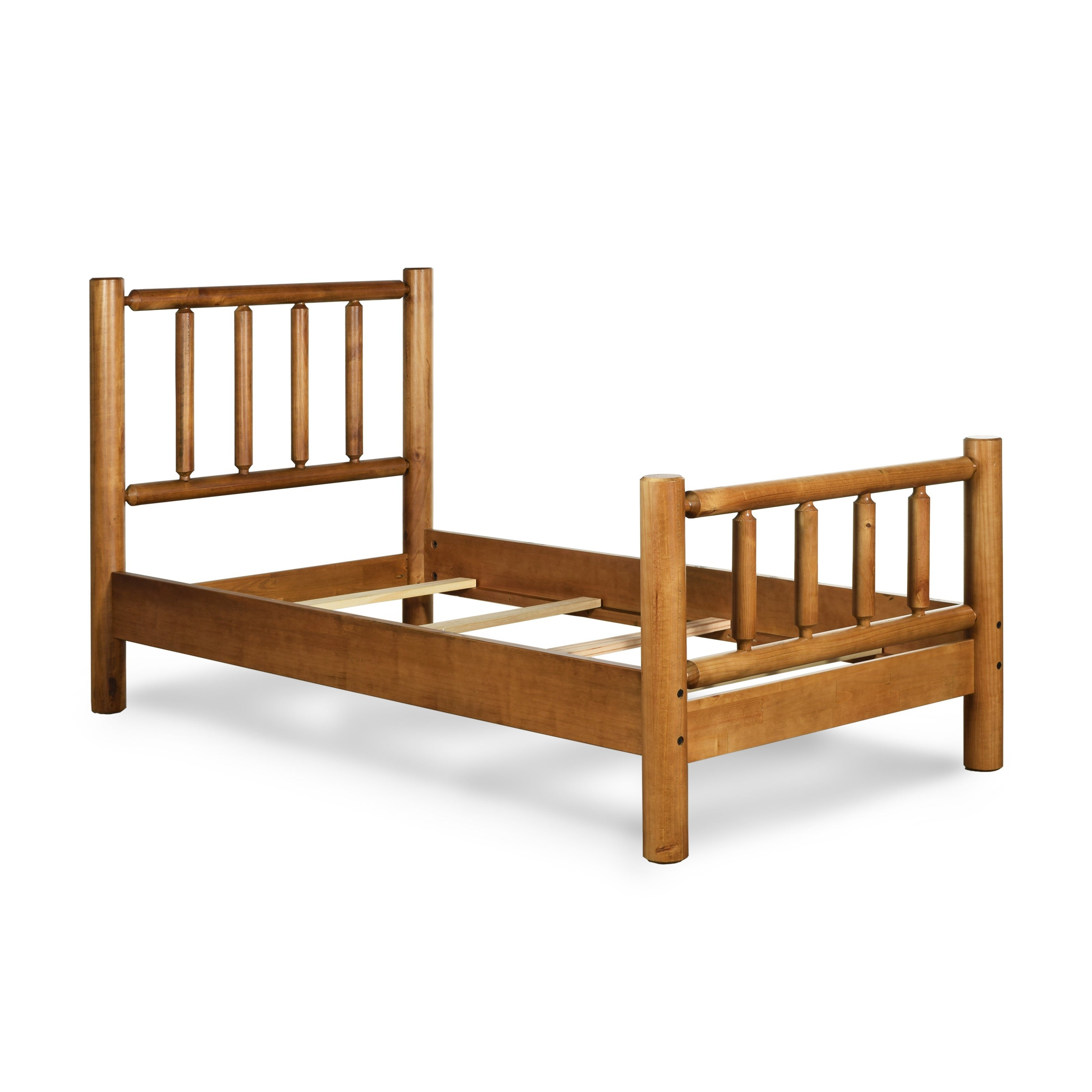 Picture of: Timber Creek Twin Size Log Bed Overstock 10017722