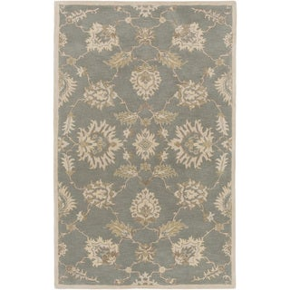 Hand-Tufted Watton Floral Wool Rug (10' x 14')