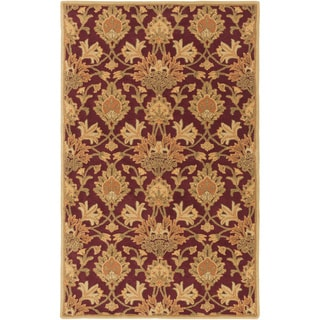 Hand-Tufted Totnes Floral Wool Rug (9' x 12')