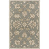 "Hand-Tufted Watton Floral Wool Area Rug - 7'6"" x 9'6"""