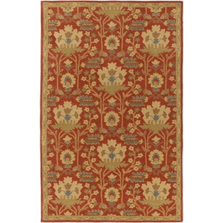 Hand-Tufted Widnes Floral Wool Rug (9' x 12')
