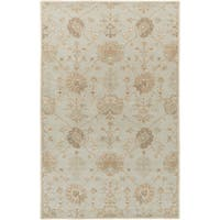 Hand-Tufted Syston Floral Wool Area Rug - 9' x 12'