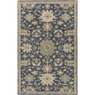 Hand-Tufted Tipton Floral Wool Rug (2' x 3')