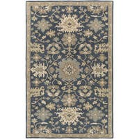 Hand-Tufted Tipton Floral Wool Area Rug (2' x 3')