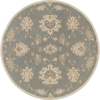 Hand-Tufted Watton Floral Wool Rug (8' Round)