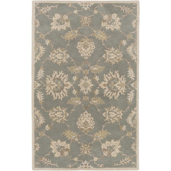 Hand-Tufted Watton Floral Wool Area Rug (12' x 15')