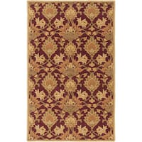 Hand-Tufted Totnes Floral Wool Area Rug (12' x 15')