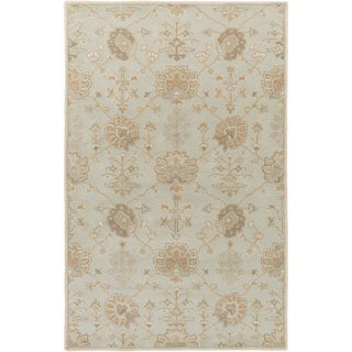 Hand-Tufted Syston Floral Wool Area Rug - 12' x 15'