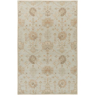 Hand-Tufted Syston Floral Wool Area Rug (12' x 15')