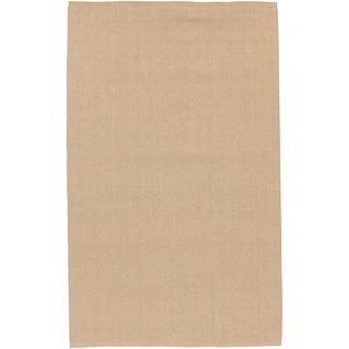 Hand-woven Natural Fiber Cannock Jute Rug (2' x 3')